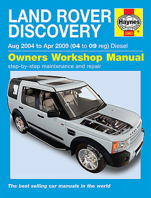 Land Rover DISCOVERY 3 2004-2009 V6 Reparaturanleitung Handbuch workshop manual