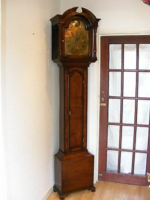 LONGCASE CLOCK CHESTER c1740-1760, 8 day W Thompson Grandfather Clock 270 yrs