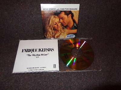 Ricky Martin/Christina Aguilera TO BE LONELY+Enrique Iglesias DIVINE CD Singles!