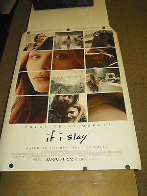 If I Stay /orig Us One Sheet   Movie Poster  (Chloe Grace Moretz )Ds