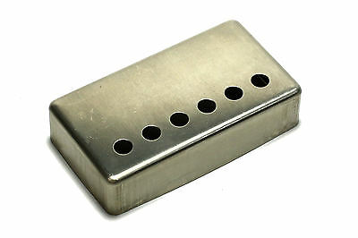 "Humbucker Pickup cover NON-plated RAW nickel silver 1 15/16"" (49.2mm) for Gibson"