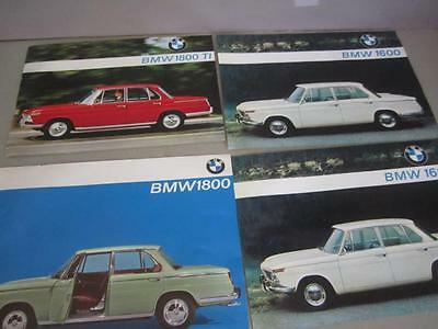 P1 1965 BMW 1600 & 1800 Sale Brochure Car Specifications