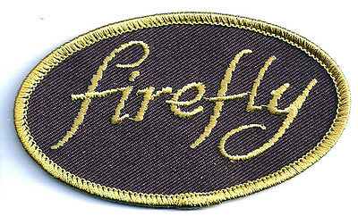 """SERENITY/FIREFLY Word Logo 3.5"""" Embroidered Patch- FREE S&H  (SEPA-020)"""