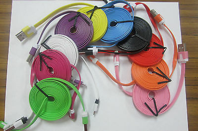 usb cable  6ft  long 8pin  generic usb cable for iphone 5,5s exelent condition