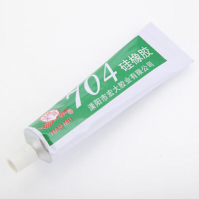704 High Temperature Electronic Devices Silicon Rubber Adhesive Sealant Glue 45g