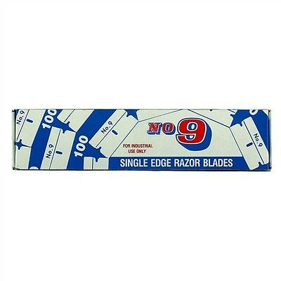 6000 BLADES!!! .009 #9 Industrial Single Edge Razor Blades Made In U.S.A.Cutto