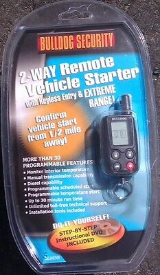 Brand New 2-Way LCD Remote Starter & Keyless Entry W/ Bypass Module