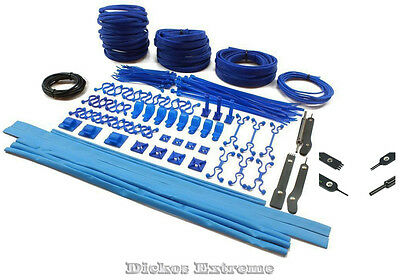 Mod/Smart Professional Kobra System Expandable Cable Sleeving Kit UV Blue - Mod.