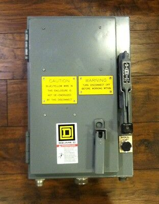 Square D Combination Motor Starter 30 Amp With Allen Bradley Devicenet E3 Plus