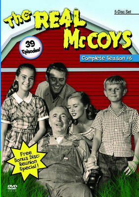 The Real McCoys The Complete Sixth Season ( 6 ) - All 39 episodes 5 DVD set