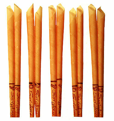 10 Candele per orecchie CONICAL con filtro - Miele neutro SUNGLOW ear candles