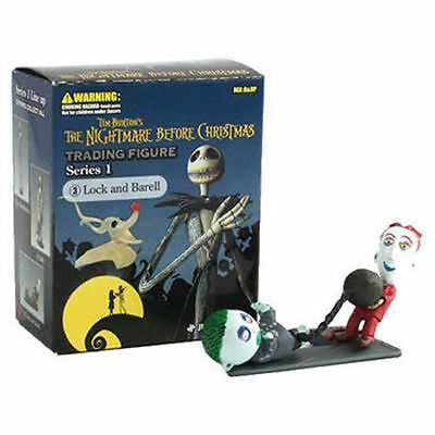 Lock and Barell The Nightmare Before Christmas - TNBC - Trading Figure Series 1