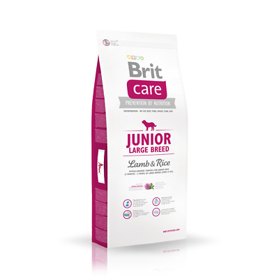 12kg Brit Care Junior Large Breed Lamb & Rice  Super-Premium  Hundefutter
