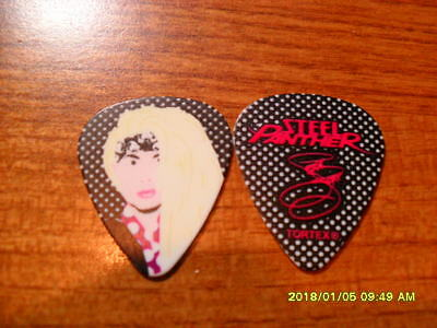 New Style Guitar Pick From Lexxi Foxx Of Steel Panther