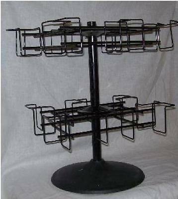 Store Display Fixture NEW 2 LEVEL COUNTER TOP SPINNER CARD / NOTES  DISPLAY RACK