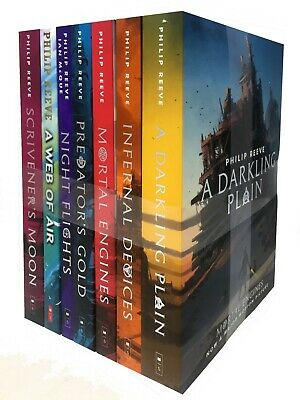 Mortal Engines Collection Philip Reeve 3 Books Set Pack New Children Trilogy