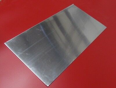 "6061 T6 Aluminum Sheet .125"" (1/8"") Thick x 12"" Wide x 24"" Length, 1 Pieces"
