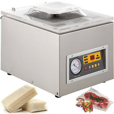 Commercial Food Saver Vacuum Sealer Machine Clear Preserving Sealing Packing