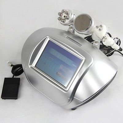 Radio Frequency Ultrasonic Cavitation Tripolar Bipolar RF Skin Lift Slim Machine