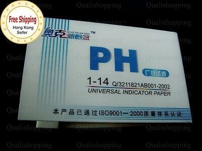 1-14 pH Universal Litmus Indicator / Aquarium Water Test Paper