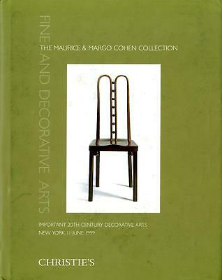 Christies - The Maurice & Margo Cohen Collection - NY - 6/11/99 Moser Hoffmann