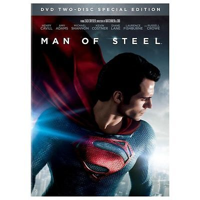 MAN OF  STEEL ---- 2 DISC SET SPECIAL EDITION    ( DVD   2013   )