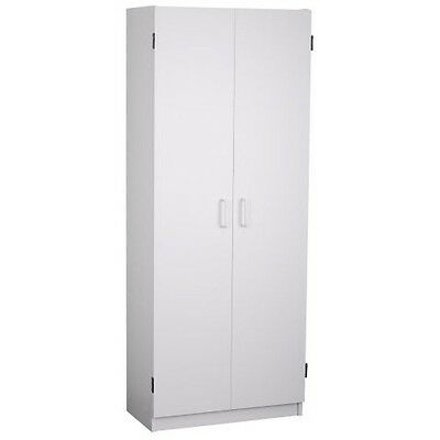 Kitchen Pantry Cabinets Cabinet Storage Cupboard Tall White Food