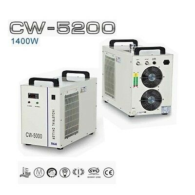 CW5200 1400W Water chiller for CO2 laser machine (AC220V 60Hz)