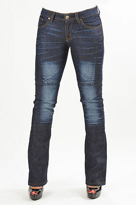 Divalo® Motorcycle Jeans Ladies Down Town - Original Aramaid Lining Inside