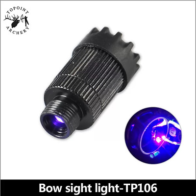 Advanced 3 Level Adjust Led Light For Bow Sights Night Archery And Bow Hunting