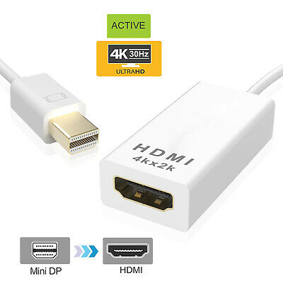 Mini Display Port Male to HDMI Female Adapter Cable For HDTV MAC Macbook AIR PRO