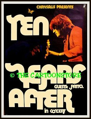 "TEN YEARS AFTER, PATTO - MINI-POSTER PRINT 7"" x 5"""