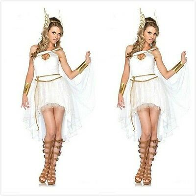 Hot Greek Goddess Venus Costume Roman Athena Toga Woman Costumes Christmas Dress