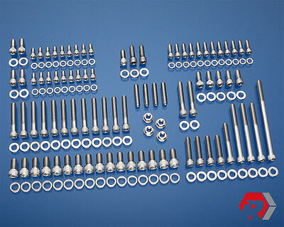 SBF SMALL BLOCK FORD STAINLESS BOLT KIT PRE-86 260 289 302 PASS. SIDE H20 INLET