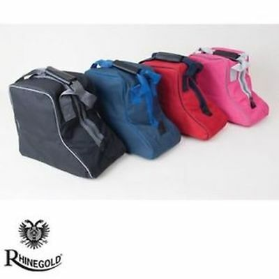 New Horse Pony Adult Child Kids Rider Show Rhinegold Short Boot Riding Carry Bag
