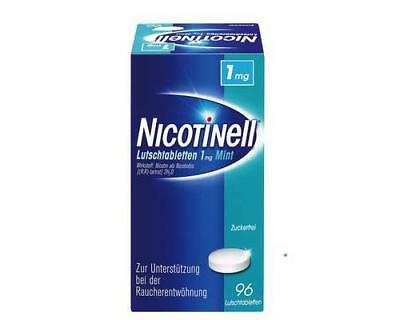 NICOTINELL Lutschtabletten 1 mg Mint 96St PZN: 3062013