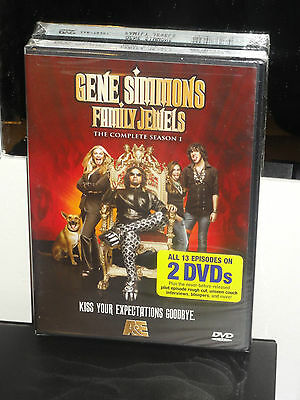 Gene Simmons: Family Jewels - The Complete Season 1 (DVD) 2-Disc Set! BRAND NEW!