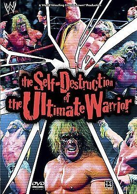 NEW WWE The Self-Destruction Of Ultimate Warrior Collector's Edition 2-Disc Set