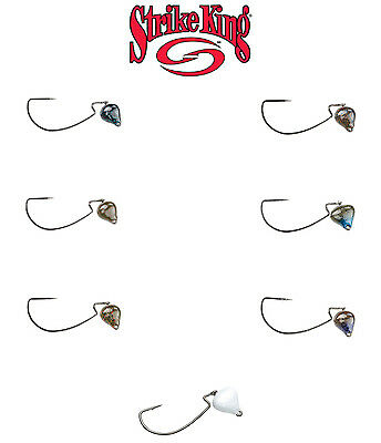 Strike King Jointed Structure Head Free-Swinging Jig Head - Select Color/Size