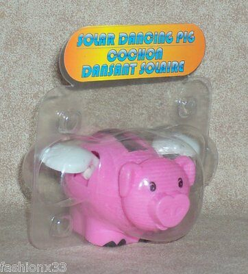 Solar Powered Dancing - FLYING PIG  U.S.A Seller
