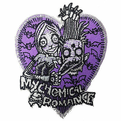 MY CHEMICAL ROMANCE MCR Embroidered Iron On or Sew On Patch UK SELLER Patches
