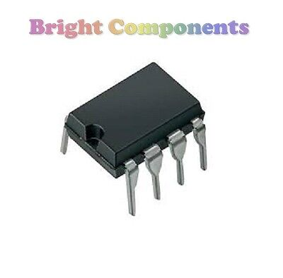 5 x LM393 Dual Voltage Comparator IC (393, LM393N) - DIP/DIL8 - 1st CLASS POST