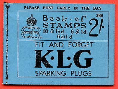 """SG. BC2. """" 2/- """". Edition Number 366. Edward VIII. A very fine example."""