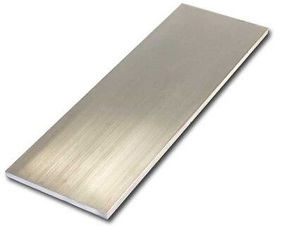 "6061 T651 Aluminum Sheet, 1/4"" (.250"") Thick x 12"" Wide x 72"" Length, 1 pcs"