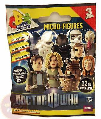 Doctor Who Micro Figure Blind Foil Pack (Wave 3) =one-figurine-only-per-pack=NEW