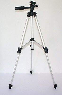 "50"" Pro Photo/Video Tripod With Case for JVC Everio GZ-HD320"