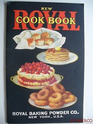 Rare 1922 Royal Baking Powder Cookbook Recipe Book Excellent Shape