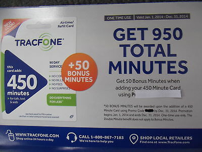 Airtime Promo Codes. The following promo codes can be found directly on Tracfone's site, as well as various other coupon sites.. Tracfone states that the latest codes are not valid on the ZTE , ZTE and Alcatel handsets.