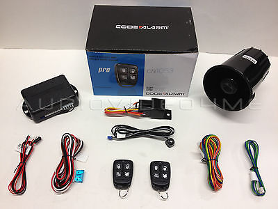 NEW Code Alarm CA1053 Car Vehicle Security + Keyless Entry System