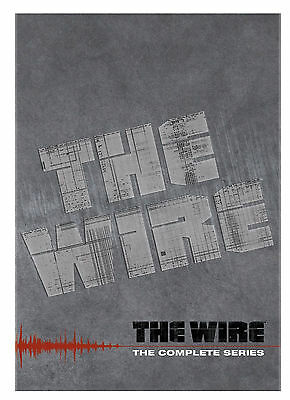 The Wire - The Complete Series  FREE PRIORITY SHIPPING NEW  AND SEALED!!